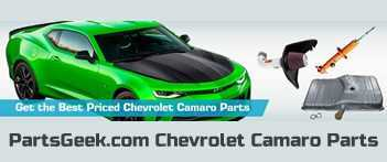 PartsGeek.com Chevrolet Camaro Parts